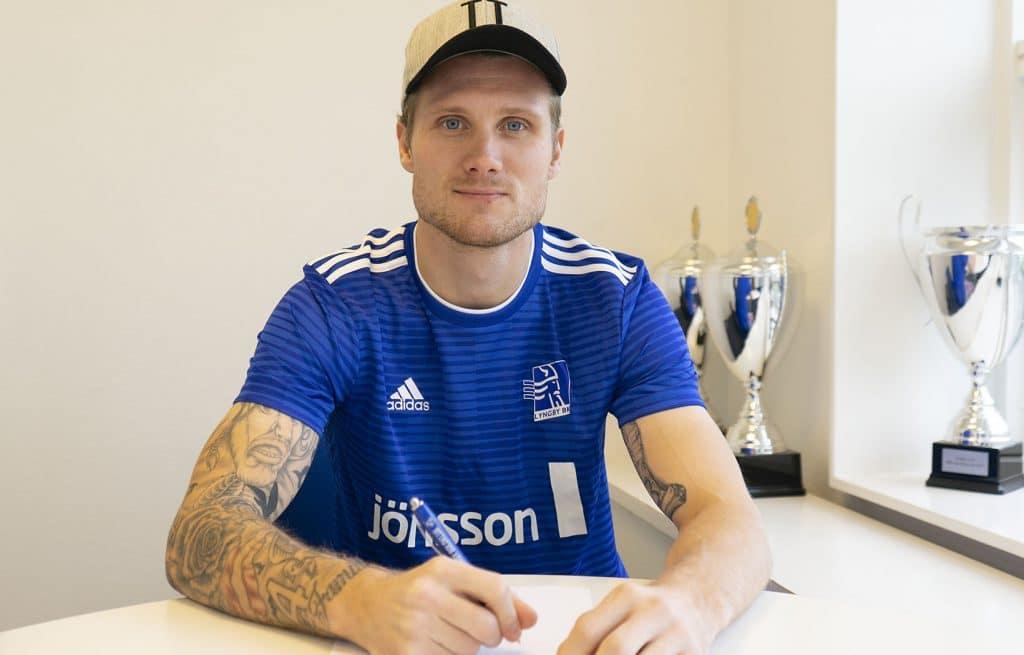Lyngby Boldklub forlaenger med Nicolai geertsen